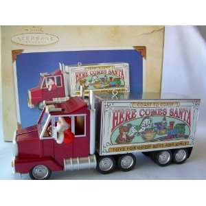 Ornament Santas Big Rig # 25 Here Comes Santa Series Everything Else