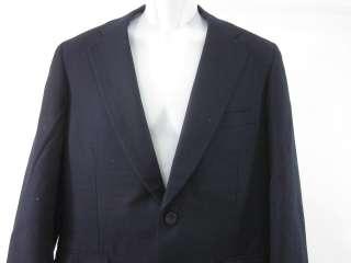 PAUL STUART Mens Wool Navy Blue Blazer Sz 39 R
