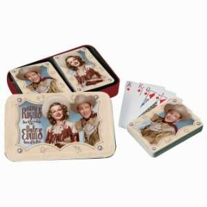 Roy Rogers & Dale Evans Playing Card Gift Set