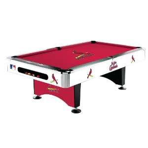 St Louis Cardinals MLB Pool Table