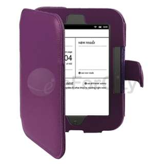 For Barnes&Noble Nook 2 Simple Touch/GlowLight Reader Leather Case