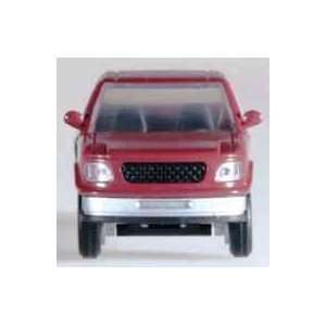 HO Ford F150 Pickup Truck Red Atlas Trains Toys & Games