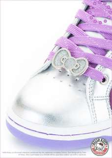 Sanrio Hello Kitty Lady High Profile Style Casual Shoes Silver Purple