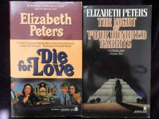 Lot of 12 ELIZABETH PETERS Books,Mystery Suspense, Egypt