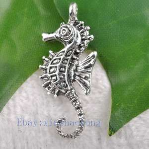 FREE SHIP 100pcs Tibetan Silver Lovely Animal Charm Pendents KP7331