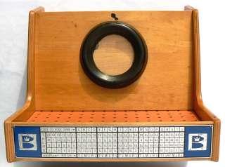 WILD 1950s Brunswick Custom Matic bowling ball fitter.