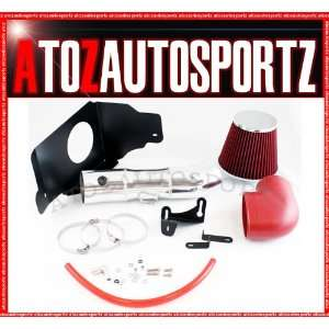 RED 05 09 Mustang 4.6L V8 Cold Air Intake Kit Automotive
