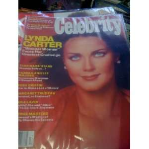 CELEBRITY MAGAZINE     OCTOBER 1977 ISSUE (LYNDA CARTER ON THE COVER)