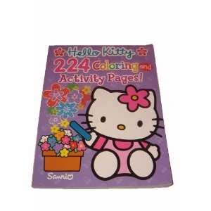 Hello Kitty Jumbo 224 Page Coloring and Activity Book