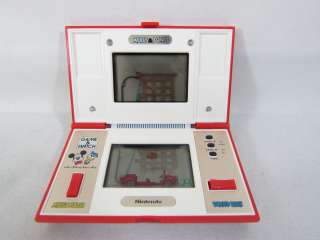 Nintendo Game & Watch MICKEY & DONALD Multi Screen Boxed DM 53 Brand