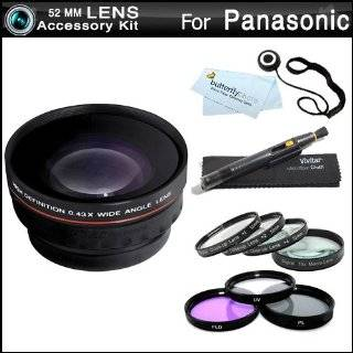 10 + 3pc High Res Filter Kit (UV CPL FLD) + MicroFiber Cleaning Cloth