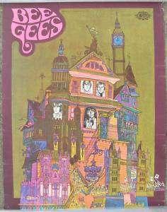 Original BEE GEES Poster, 1968