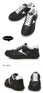 New Shoe Holic Black White Womens Sports Max Running Training Sneakers