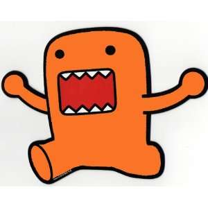 Cartoon Car Magnet   Orange JUMPING Hands Up Domo: Everything Else