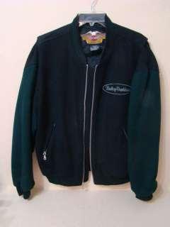 Mens Harley Davidson Jacket Size M CA 03402 Wool Rayon