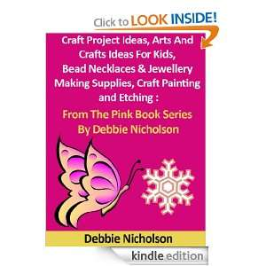 Craft Project Ideas, Arts And Crafts Ideas For Kids, Bead Necklaces