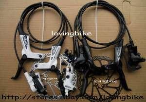 2012 Avid Elixir 1 Brake (F&R) G3 160mm Black White NEW