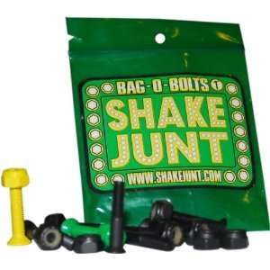 Shake Junt Bag O Bolts Blacks 1(allen) 1set Skateboarding Hardware