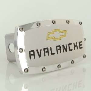 Chevy Avalanche Logo Tow Hitch Cover Automotive