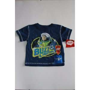 Disney Pixar Buzz Lightyear Toy Story Talking Shirt 12m