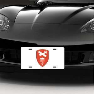 Army Airborne Command LICENSE PLATE Automotive