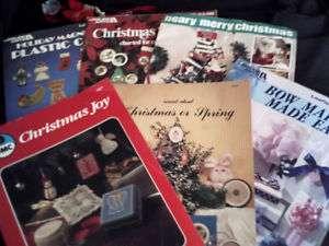 Craft Patterns Cross Stitch Christmas Leisure Arts Lot