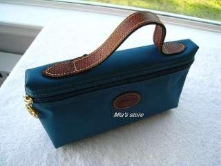 Longchamp Purse Le Pliage Zip Pouchette Bag Cosmetic Case NEW