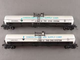 SCALE LOT   11 ASSORTED GATX GN REEFER GONDOLA STOCK TANK FREIGHT CARS