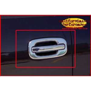1999 2006 Chevy Silverado / GMC Sierra 4 Door Chrome Stainless Door