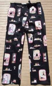 ITW Claudia Brown Black Fashionista Kitty Cat Pants 12