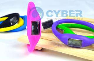 New Cute Ion Jelly Silicone Rubber Sports Wrist Watch