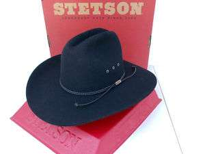74005af185add ... Stetson Cowboy Hat 4X Beaver Fur Felt Tyler Black ...
