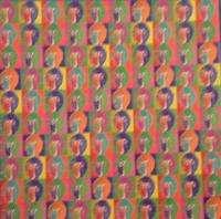 THE BEATLES JOHN LENNON 60S PSYCHEDELIC BLOTTER ART 70S