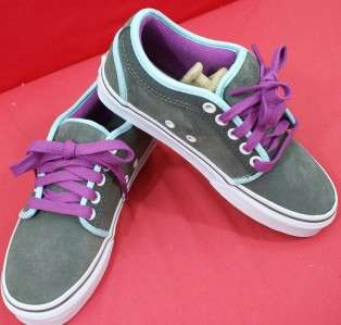 Womens Size 11.0 ( CLSG1 1 ) CHUKKA LOW Suede Grey VANS Shoes