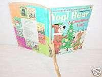 Vintage,Book,Yogi Bear,Christmas Visit,Boo Boo,Picnic