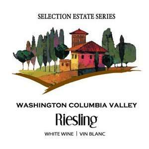 Wine Labels   Washington Columbia Valley Riesling