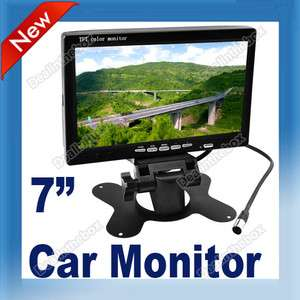 TFT LCD Color Car Rear View Monitor Headrest Reverse Rearview GPS