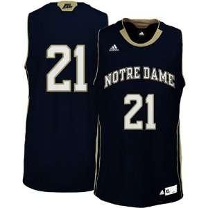NCAA adidas Notre Dame Fighting Irish #21 Replica