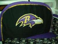 Custom made Baby Nursery Crib Bedding Set made w/Baltimore Ravens