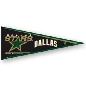 DALLAS STARS OFFICIAL LOGO FULL SIZE FELT PENNANT: Sports