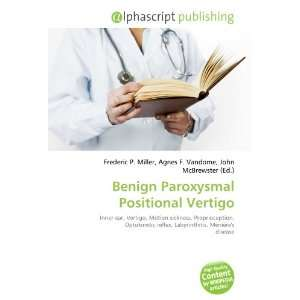 Benign Paroxysmal Positional Vertigo (9786134014946