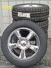 20 CHEVROLET GMC FACTORY STYLE NEW CHROME WHEELS GOODYEAR TIRES 5308