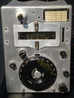 1944 WWII U.S. Army Signal Corps Radio Transmitter Western Electric BC