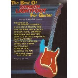 The Best of Gordon Lightfoot for Guitar (9780769205656