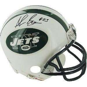 Shonn Greene Signed Jets Mini Helmet Sports Collectibles