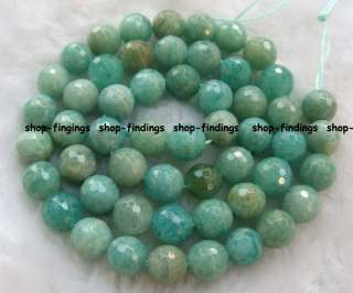 natural green ite round faceted gemstone Beads 16 high quality
