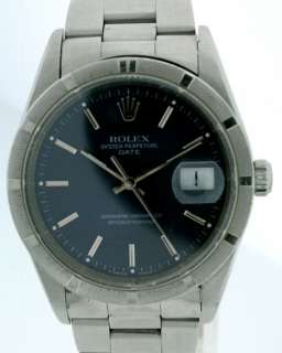 Rolex Oyster Perpetual Date, Stainless Steel 34mm Watch