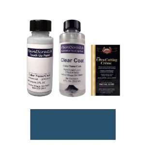 2 Oz. Ocean Blue Metallic Paint Bottle Kit for 2006 Volvo
