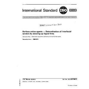 1986, Surface active agents    Determination of interfacial tension