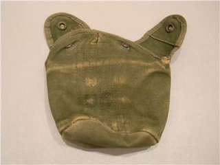 for a U.S. ARMY VIETNAM WAR PERIOD CANVAS M1910 STYLE CANTEEN COVER